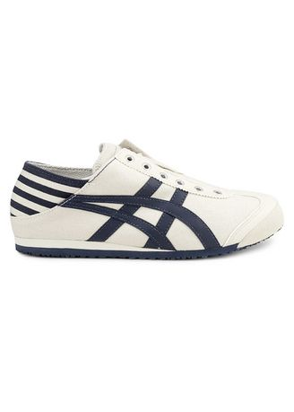 Beige color Casual Shoes . Onitsuka Tiger Slip On Paraty -