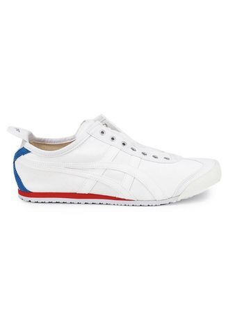 White color Casual Shoes . Onitsuka Tiger Slip On -