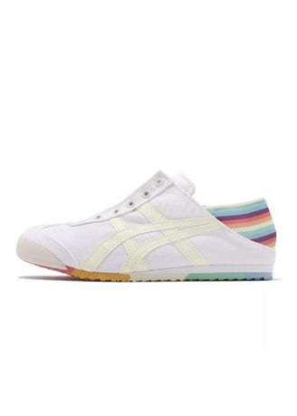 Multi color Casual Shoes . Onitsuka Tiger Slip On Paraty Rainbow -
