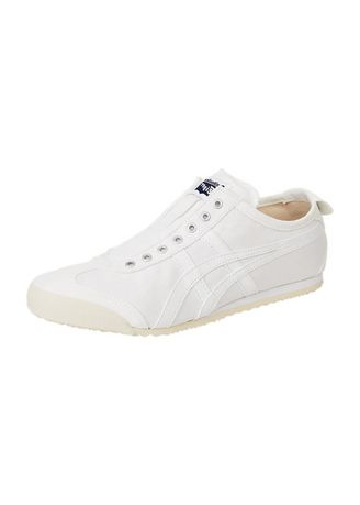 White color Casual Shoes . Onitsuka Tiger Slip On Full white -