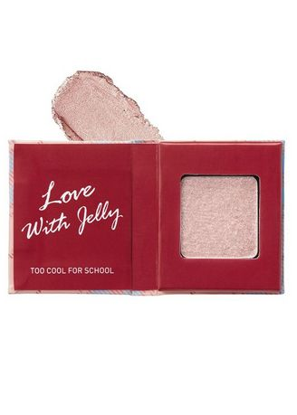 Beige color Eyes . Too Cool For School Check Jelly Eyes Shadow G01 -
