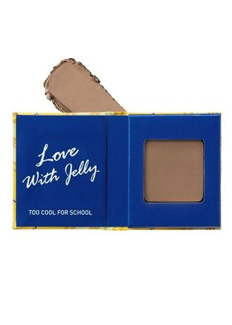 Brown color Eyes . Too Cool For School Check Jelly Eyes Shadow M04 -