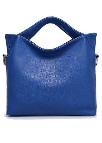Blue color Hand Bags . Women's Fashion One-shoulder Hand Tote Bag -
