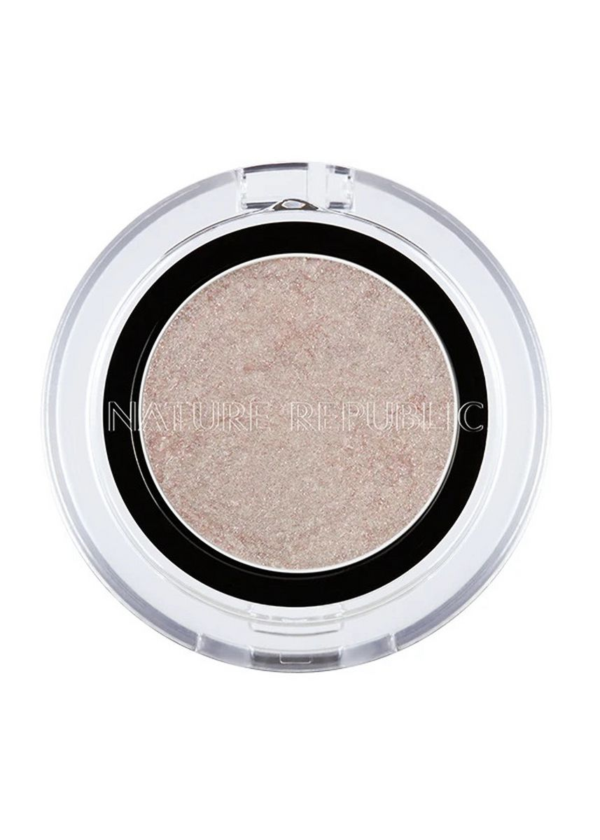 Beige color Eyes . Nature Republic By Flower Jelly Eye Shadow 01 -