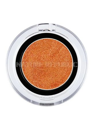 Orange color Eyes . Nature Republic By Flower Jelly Eye Shadow 07 -