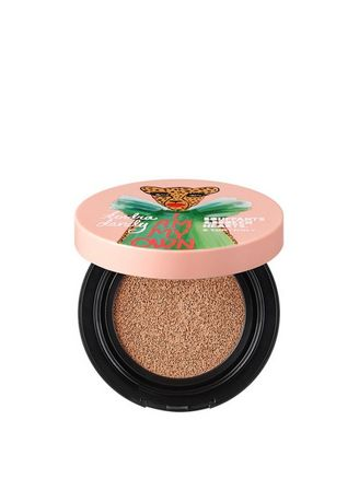 Beige color Face . TONY MOLY Bupang Simple Last Pure Wear Cushion Foundation 10g + Refill 10g -