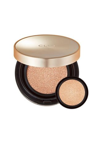 Beige color Face . CLIO Stay Perfect Cover Cushion Foundation - Lingerie -