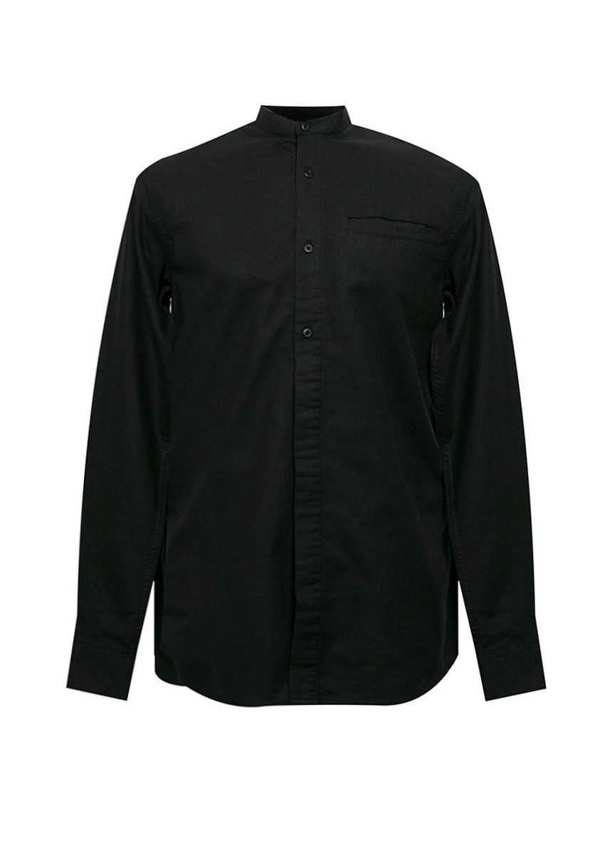 Black color Casual Shirts . Andalusea Black -