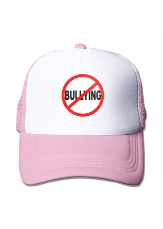 Pink color  . Stop Bullying Awareness Mesh Trucker Cap -