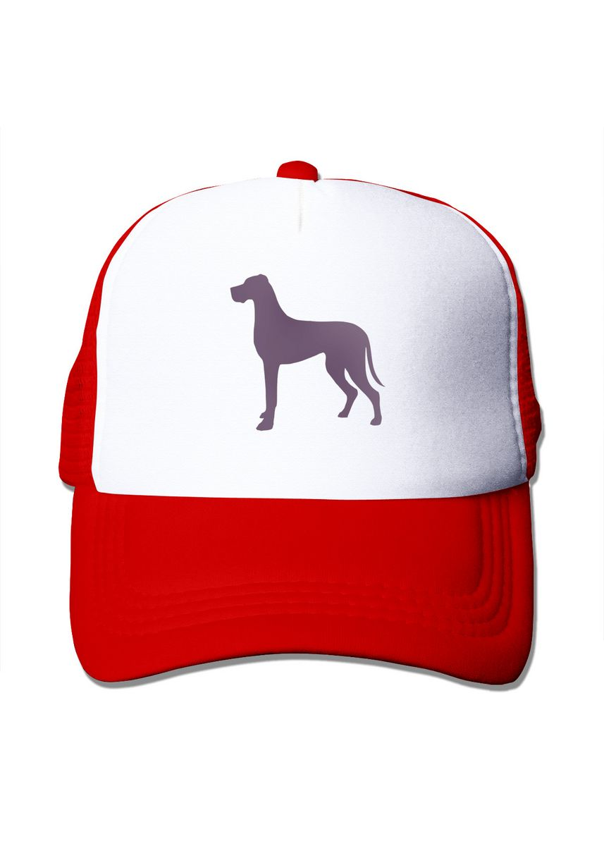 แดง color  . Great Dane Mesh Trucker Cap -