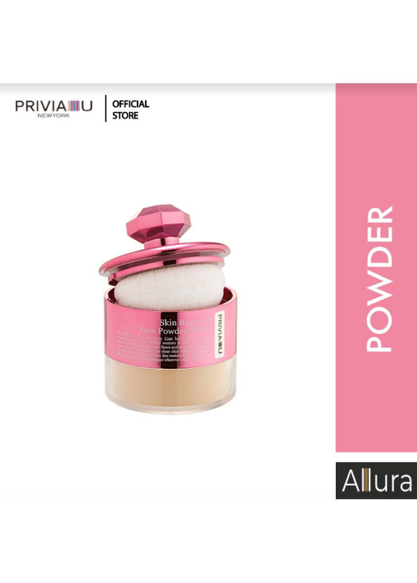 Beige color Face . Privia Skin Recovery Face Powder No.21 -