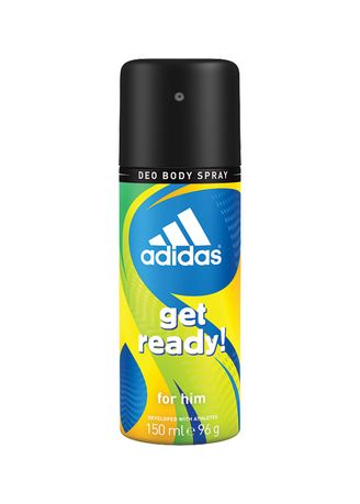Hijau color Parfum . ADIDAS Get Ready Deo Body Spray 150ml -