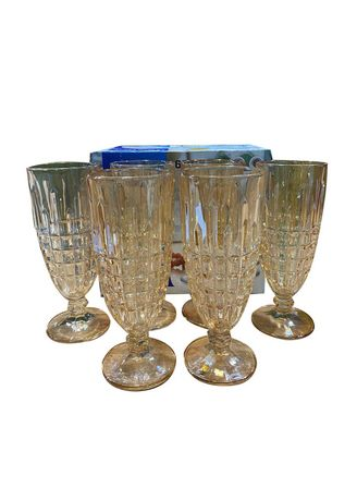 . MY06A Flute Glass, 250ml (Set of 6) -
