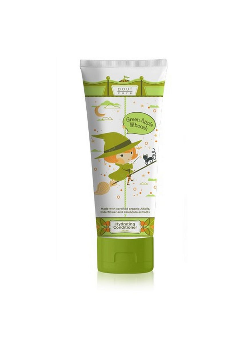 No Color color Hair Wash . pout Care Green Apple Whoosh Hydrating Conditioner 250ml -