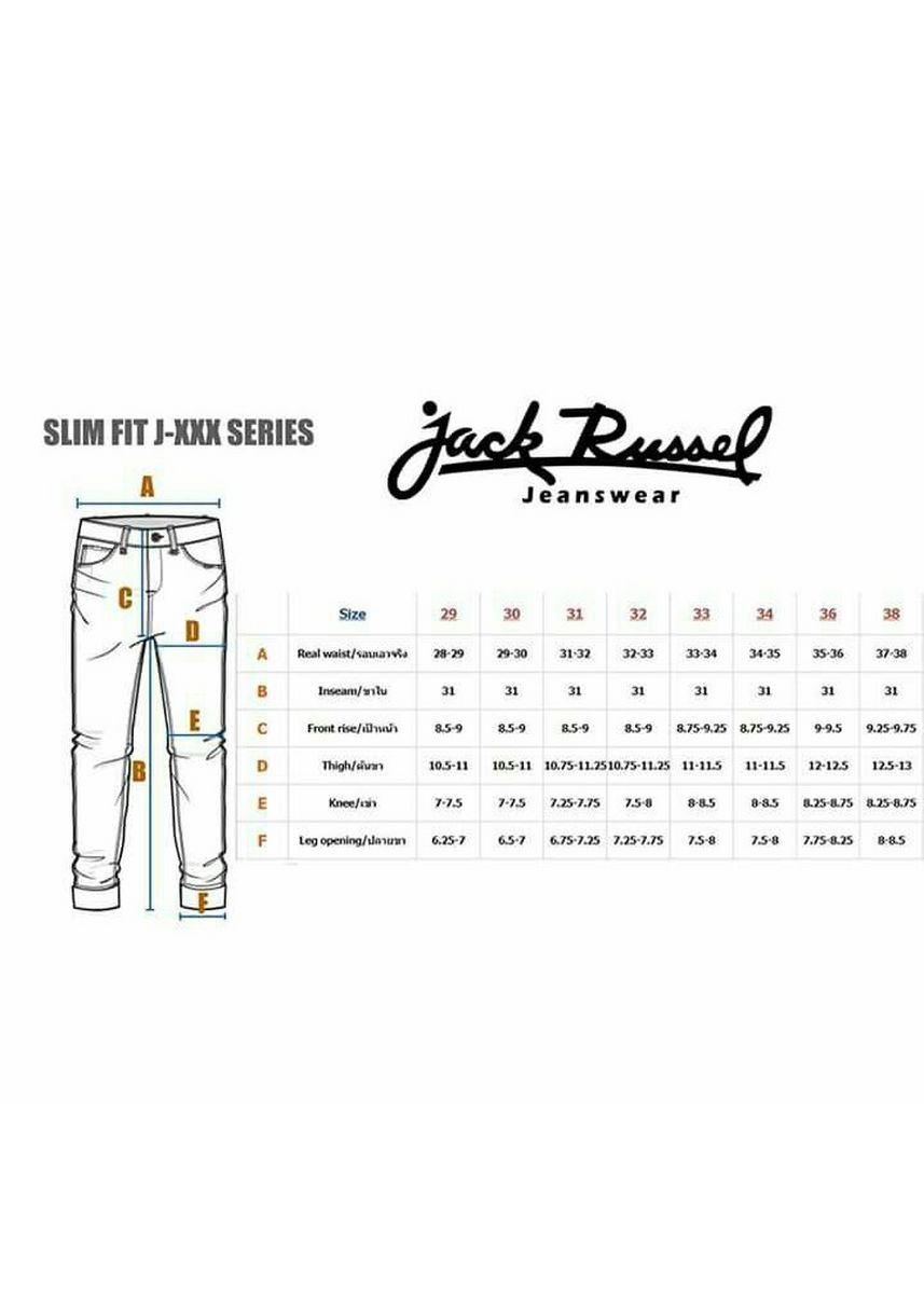Navy color Casual Trousers and Chinos . JACK RUSSEL กางเกงชีโน่กระบอกเล็ก J-320 -