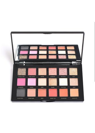 Multi color Eyes . Textured Shadows Palette - Rose Gold Edition -