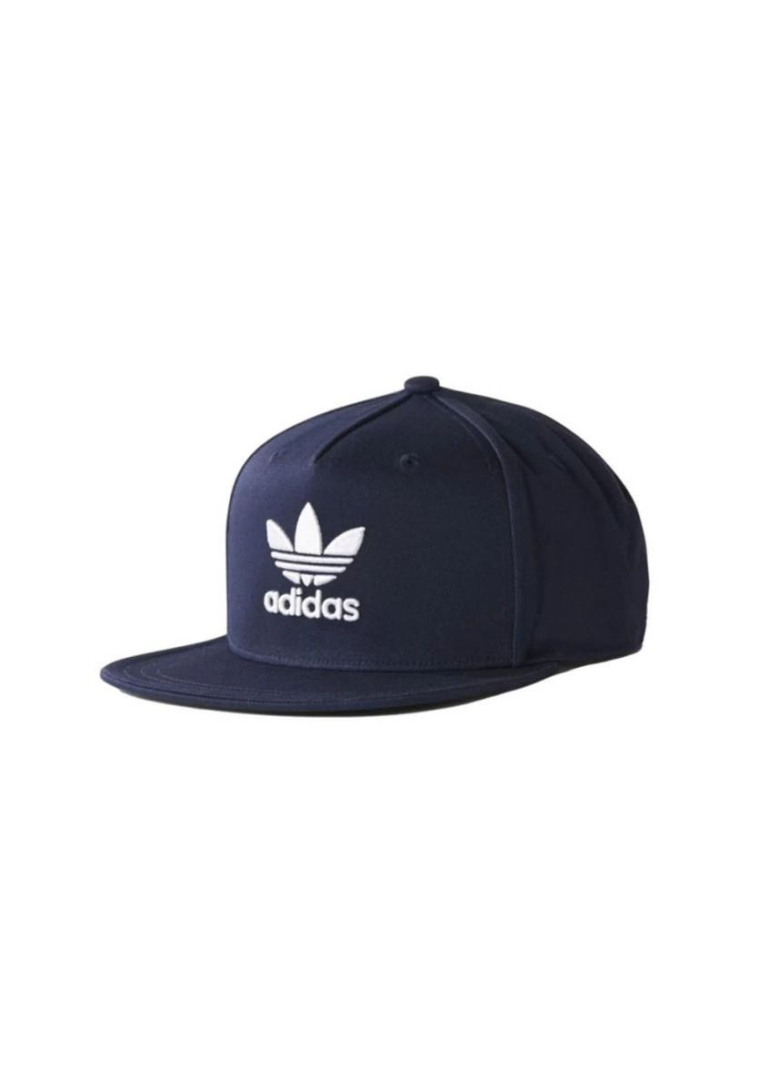 Navy color Hats and Caps . Adidas หมวก Trefoil Snapback รุ่น BP9477 (Navy) -