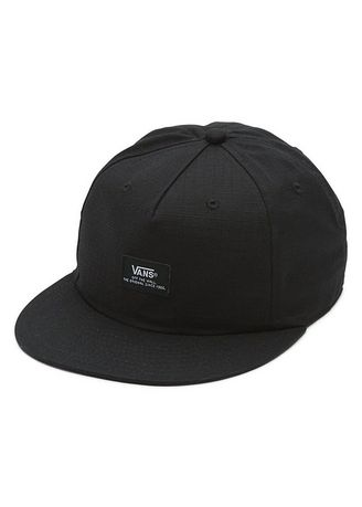 Hats and Caps . Vans หมวก Helms Unstructured HAT รุ่น VN0A2WOMBLK สีดำ (Black) -
