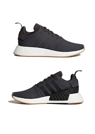 Casual Shoes . Adidas NMD_R2 เทา -