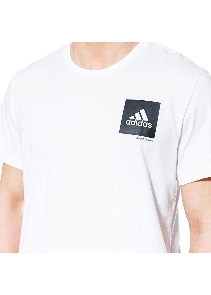 White color T-Shirts and Polos . Adidas เสื้อยืด Confidential Tee รุ่น CV4550 (White) -