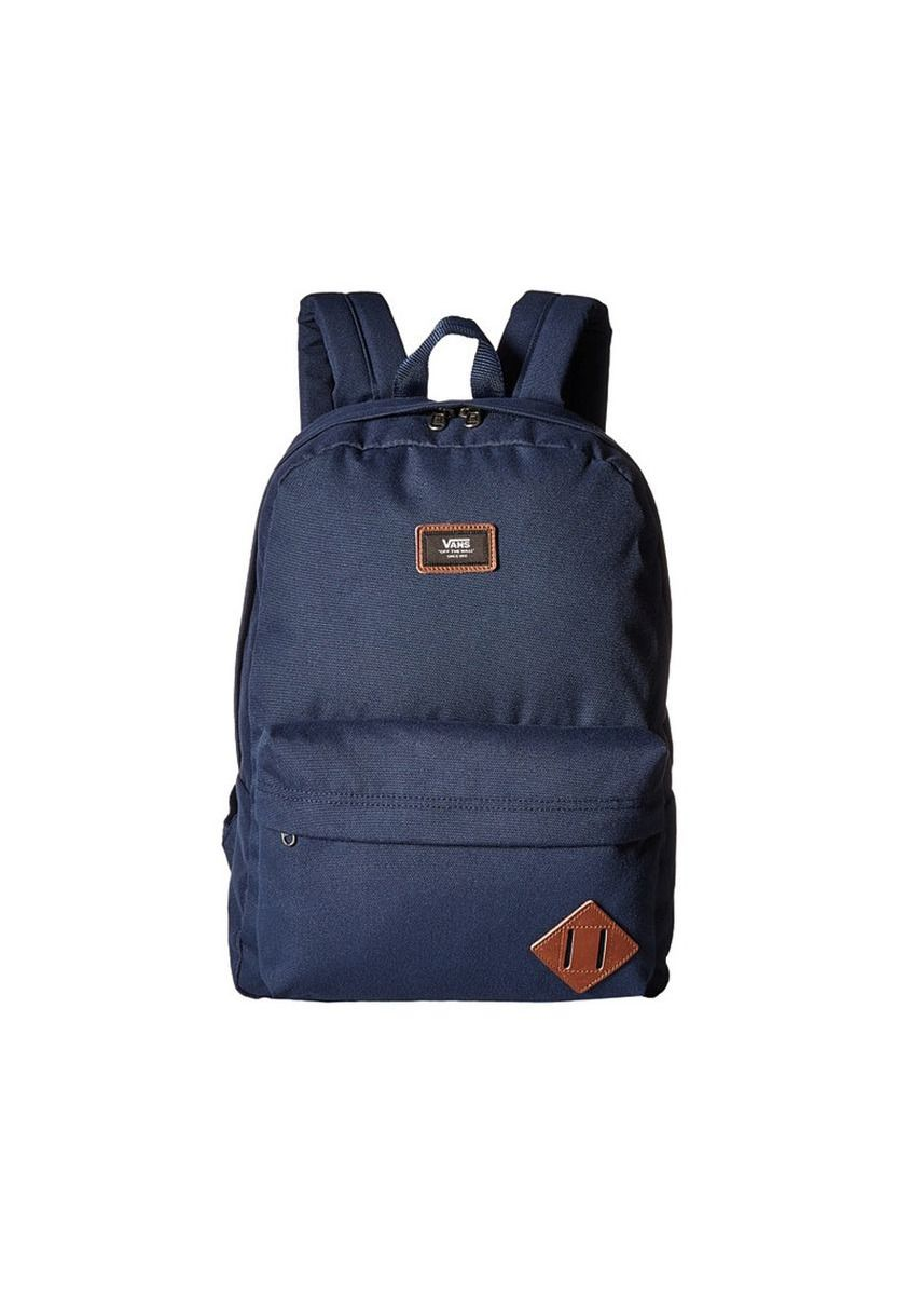 Navy color Backpacks . Vans กระเป๋าเป้ Old Skool II Backpack รุ่น VN000ONINVY (Navy) -