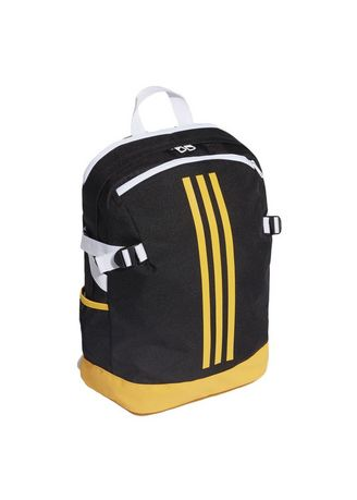 Backpacks . Adidas BP Power IV M รุ่น DZ9440 (Black/Yellow) สีดำเหลือง -