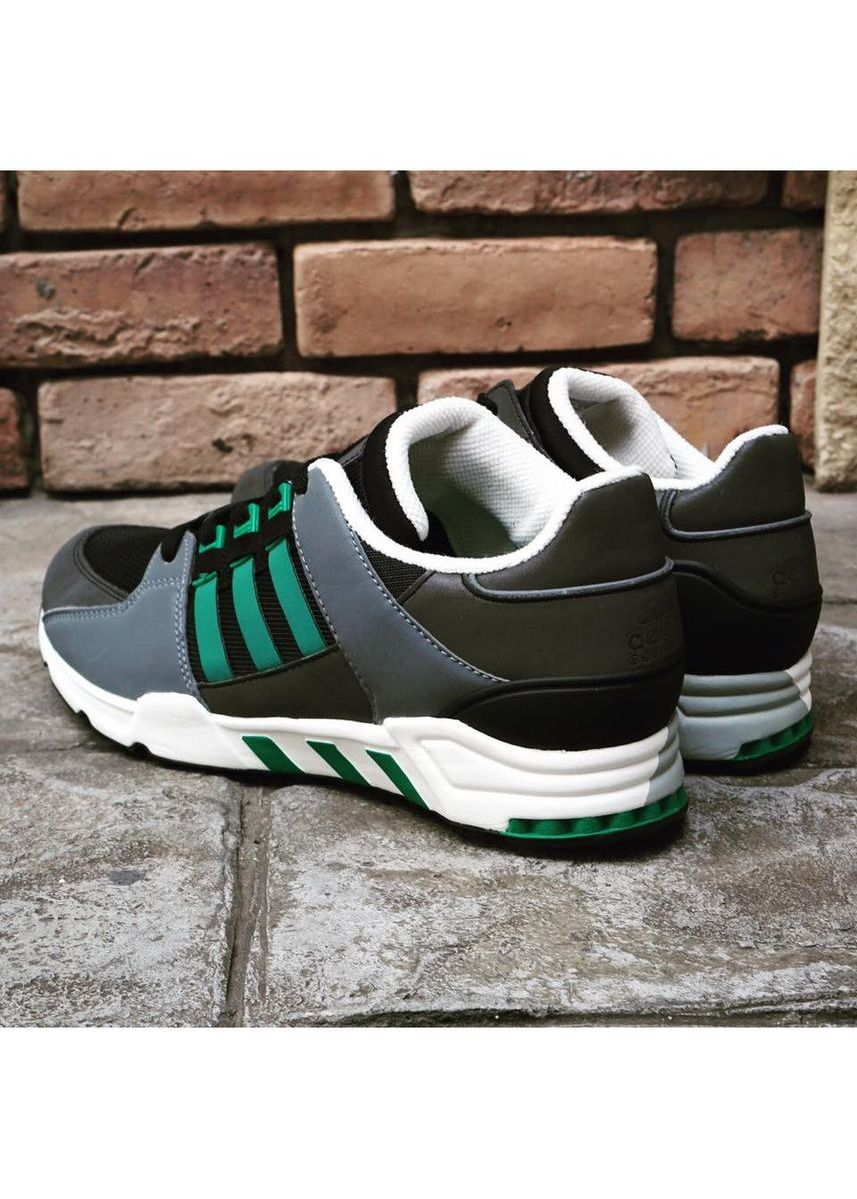 Black color Casual Shoes . Adidas รองเท้าผู้ชาย EQT RUNNING SUPPORT OG รุ่น S32144 -