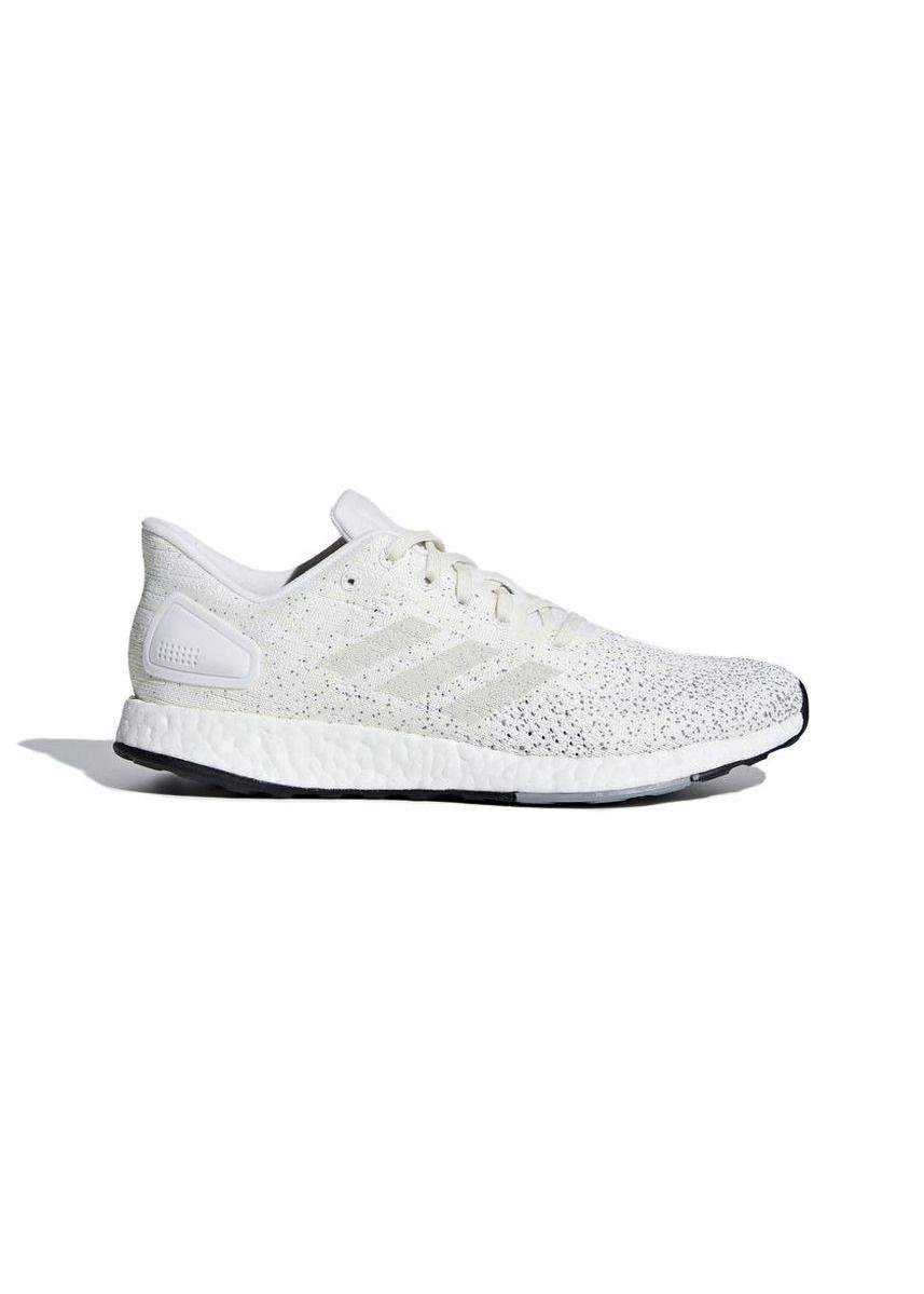 White color Sports Shoes . Adidas รองเท้า PureBoost DPR W รุ่น B75813 (White/Cream) -