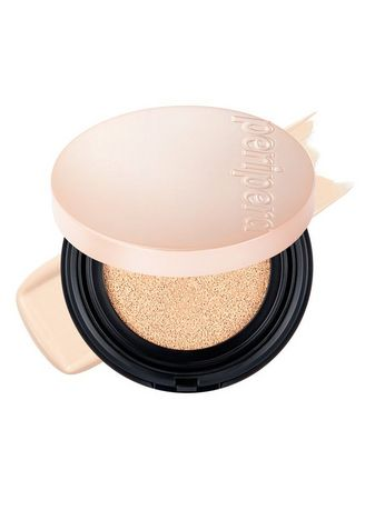 Beige color Face . Peripera Double Long Wear Cover Cushion Foundation No. 1 35g -