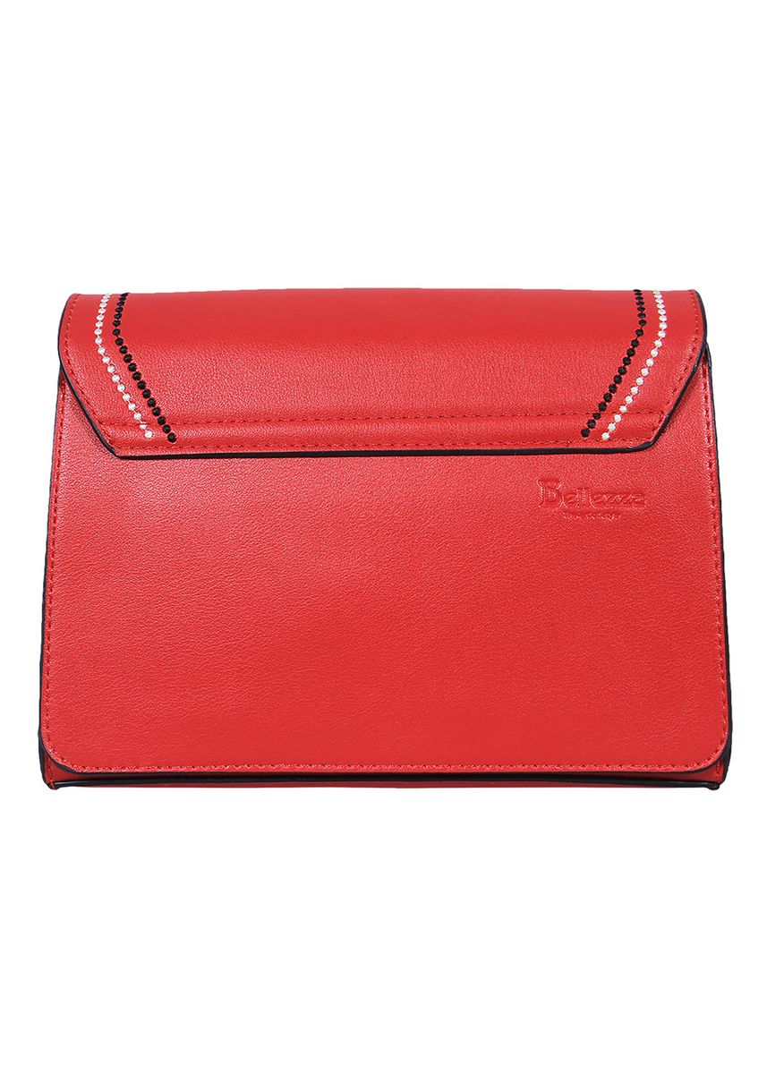 Red color Hand Bags . Handbag Bellezza MSV870 Red -