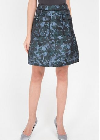 Hijau color Rok . EDITION WOMEN ES14 Short Woven Skirt -