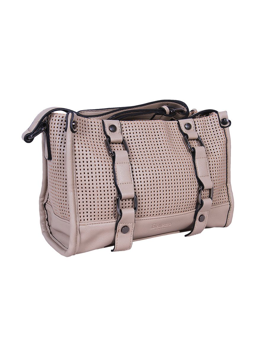 Khaki color Hand Bags . Handbag Bellezza MS-E292 Khaki -