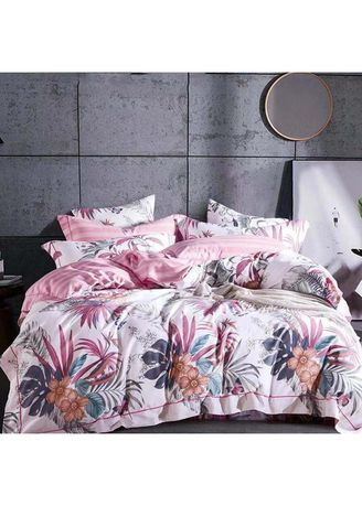 Pink color Bedroom . Sleep Buddy Set Sprei dan Bed Cover Nicely Katun 60s Queen Size -
