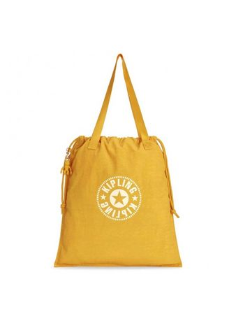 Yellow color Messenger Bags . KIPLING SHOP กระเป๋าสะพาย New Hiphurray L LIVELY YELLOW -