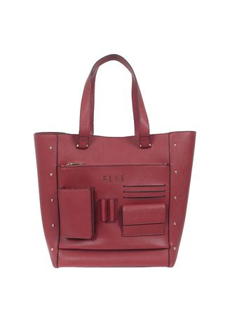 Sling Bags . Lady Document Bag Elle 40917 Red -