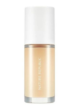Beige color Face . Nature Republic Provence Air Skin Fit One Day Lasting Foundation SPF30 PA++ 30ml -
