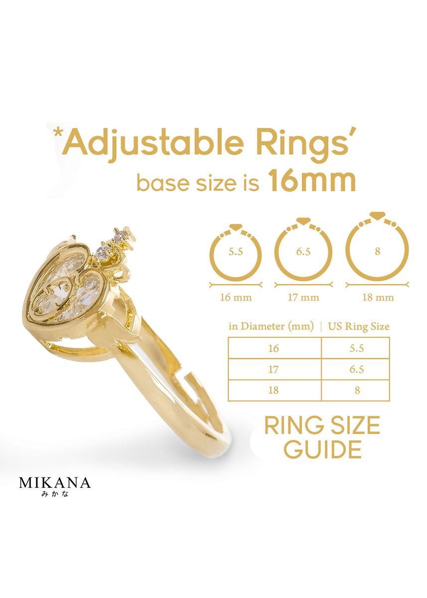 Gold color  . Mikana Mahou Shoujo Magical Girl Sailor Moon 18k Gold Plated Eternal Tiara Jewelry Set Accessories For Women -