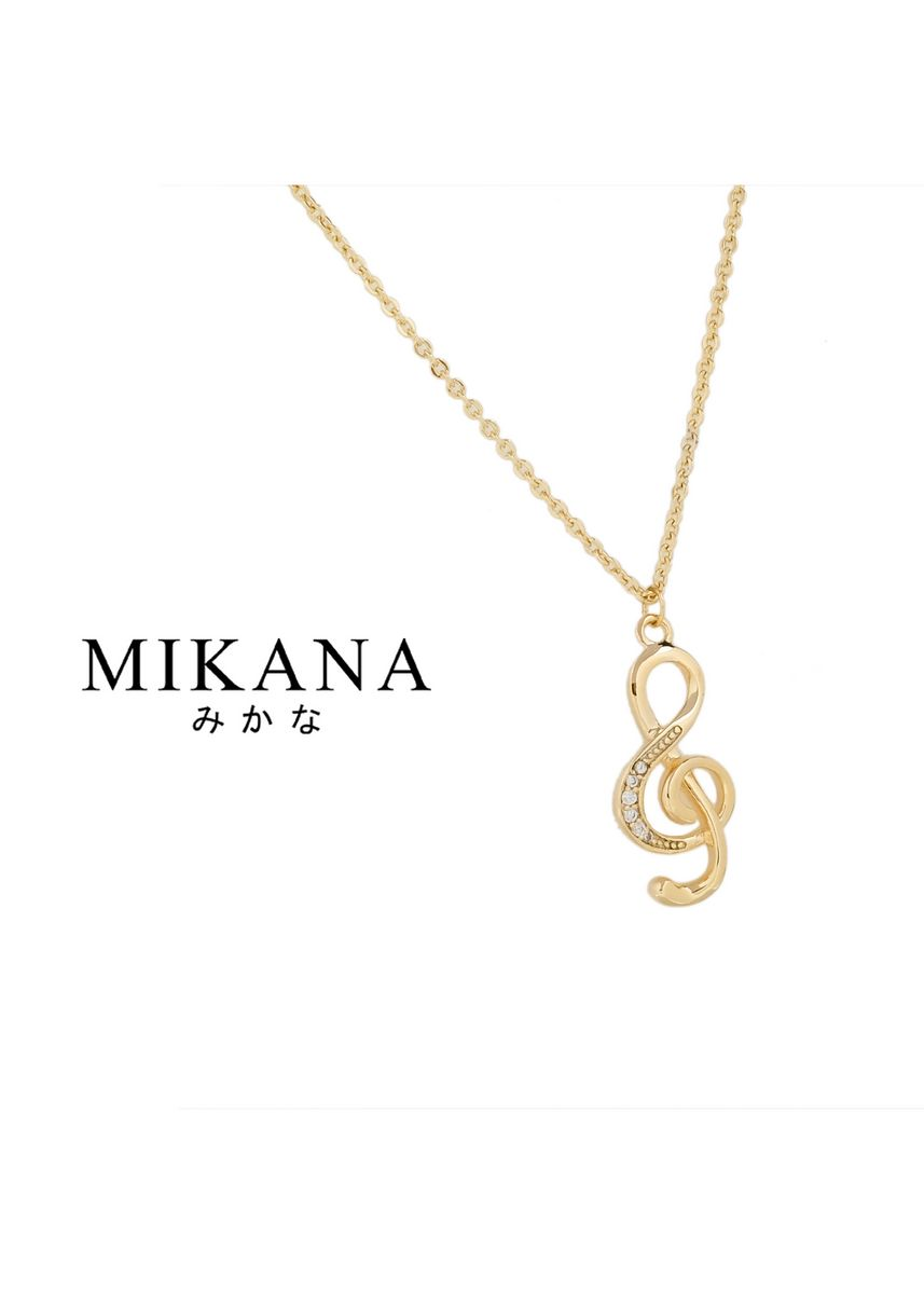 Gold color  . Mikana Start-Up 18k Gold Plated Dalmi Pendant Necklace accessories for women -