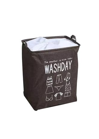 Brown color Storage . Oversized Dirty Clothes Basket  -