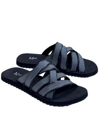 Black color Sandals and Slippers . Twista Men's Slippers -