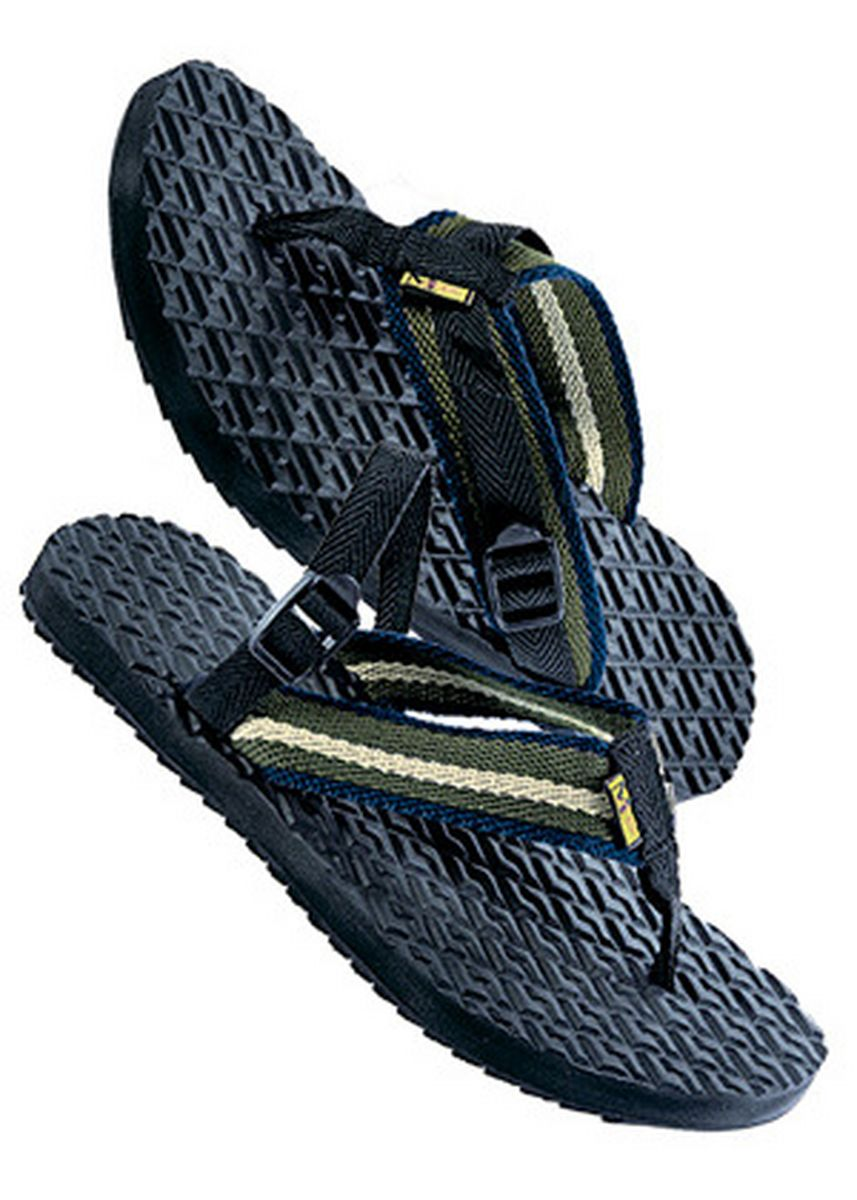 BLUEBLACK color Sandals and Slippers . Brooklyn Men's Slippers -