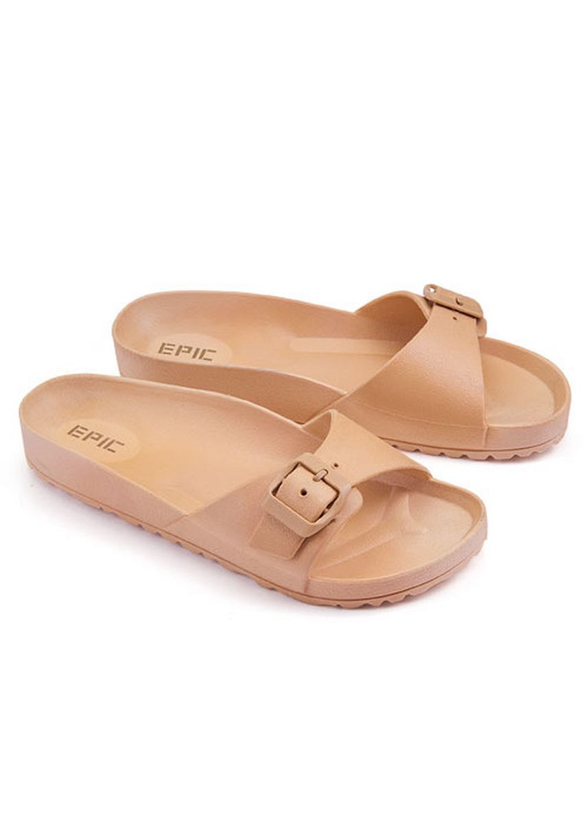 Beige color Sandals and Slippers . Sapphire Women's Slippers -