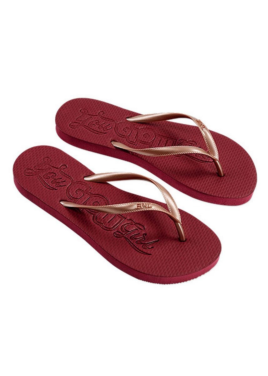 MAROONBIEGE color Sandals and Slippers . Youglowgirl Women's Slippers -