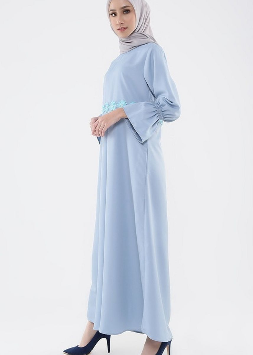 Blue color Dresses . Intani Dress -
