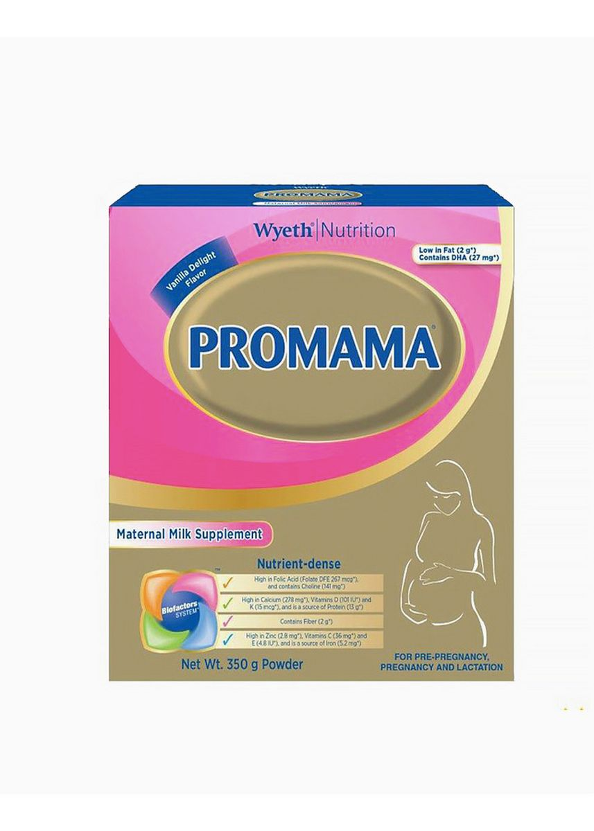 No Color color Milk . Wyeth ProMama Maternal Milk Drink Scientifically Formulated for Women, 350g Box -