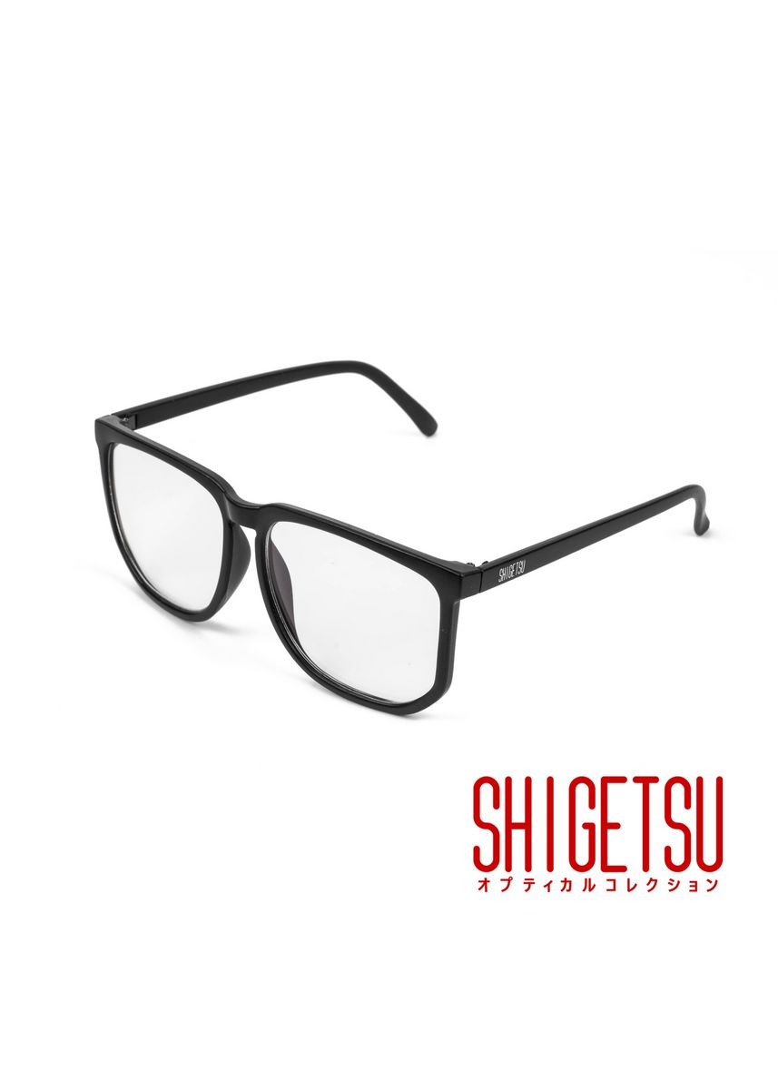 Black color Frames . Shigetsu OZU computer eyewear / anti radiation / blue light / replaceable optical lens / high quality acetate frame / metal hinge / 2901 -