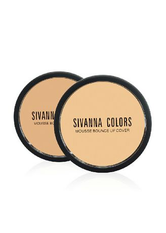 #01 color หน้า . [กล่อง 12 ชิ้น] SIVANNA COLORS Mousse Bounce Up Foundation Cover - HF144 -