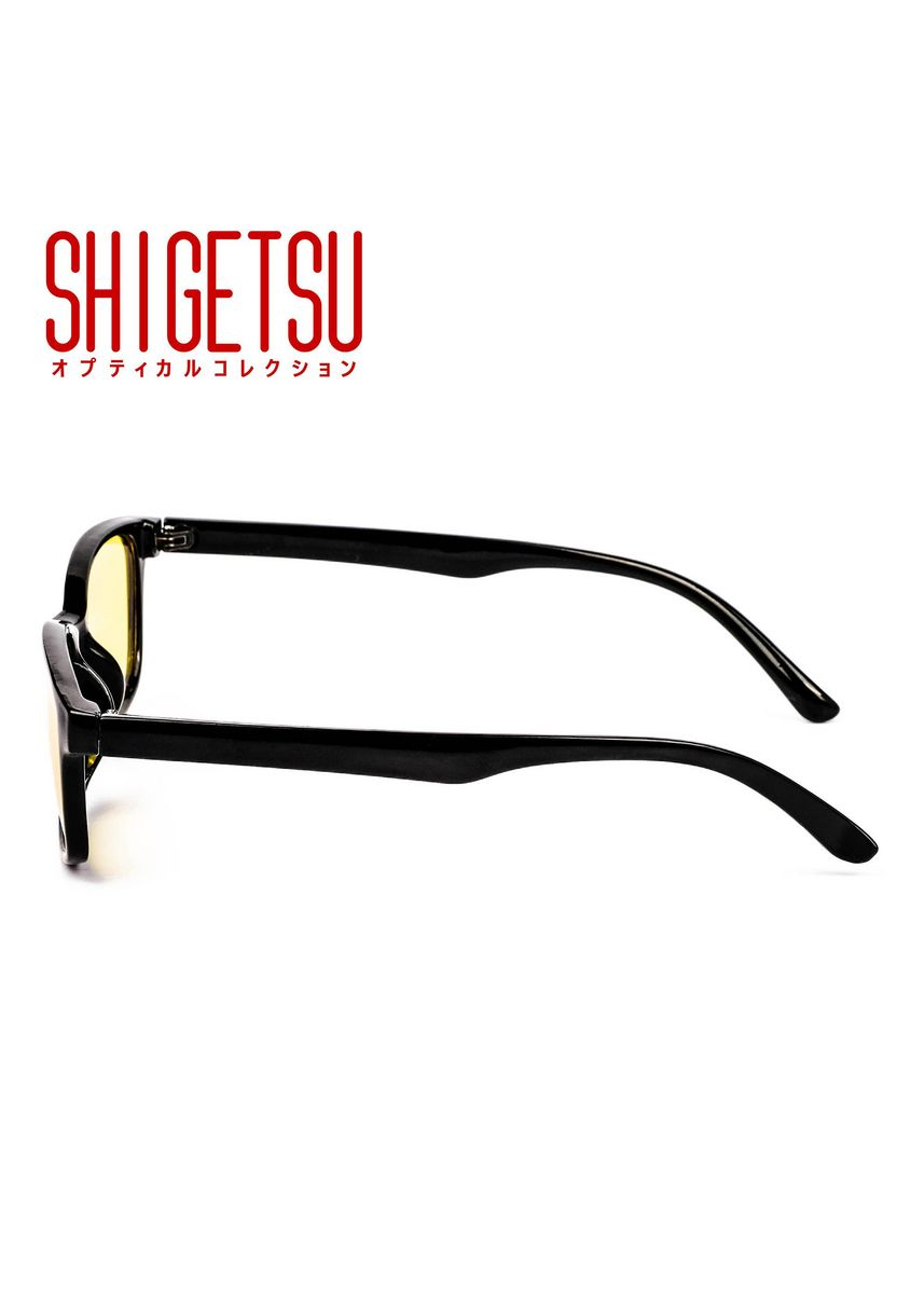 Yellow color Frames . SHIGETSU YATOMI Rectangle shaped Unisex Anti Bluelight Computer glasses with multicolored lens collection -