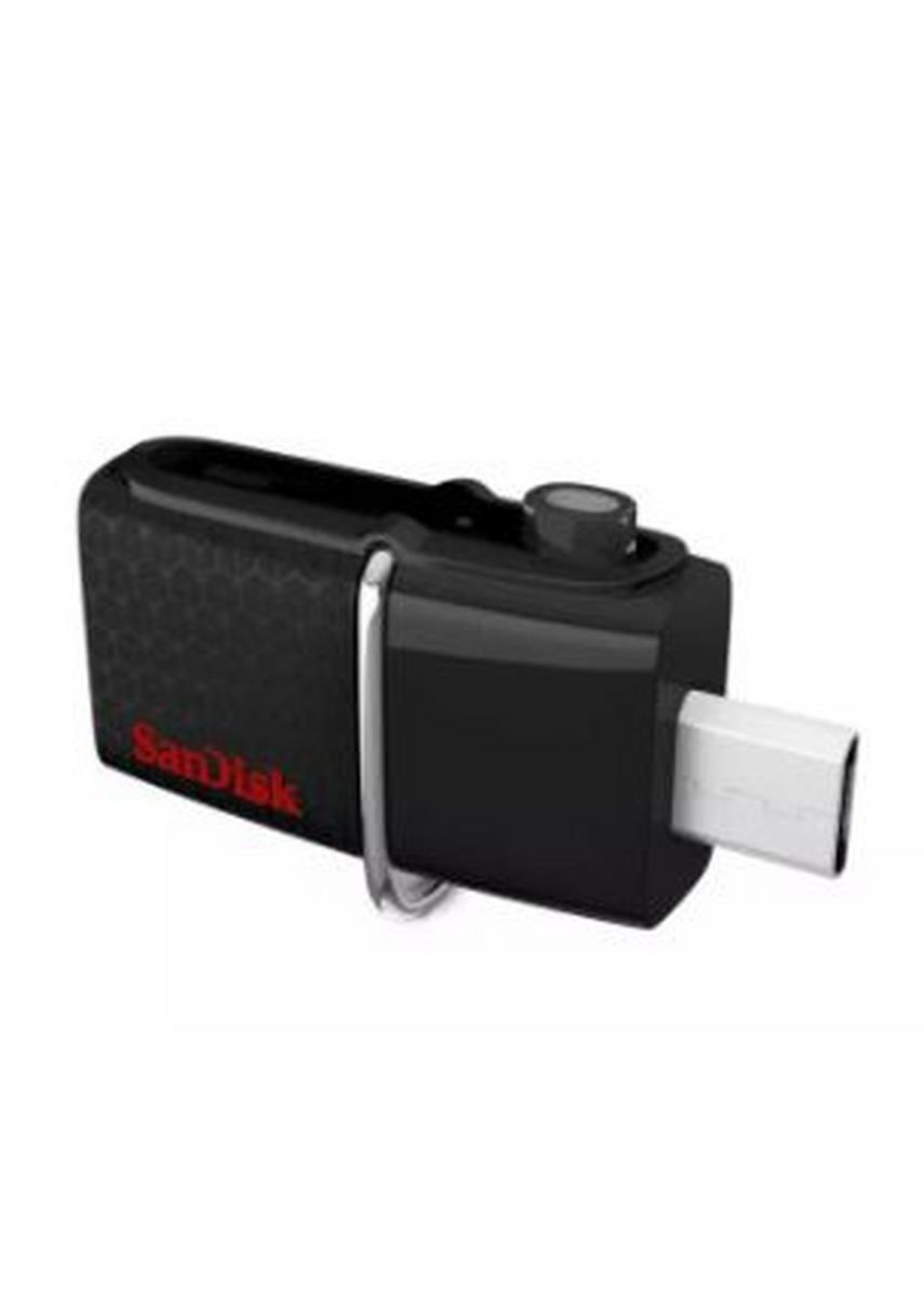 Black color  . Sandisk SDDD2-064G-G46 64GB Ultra Dual Drive 3.0 OTG Dual Flash Drive -