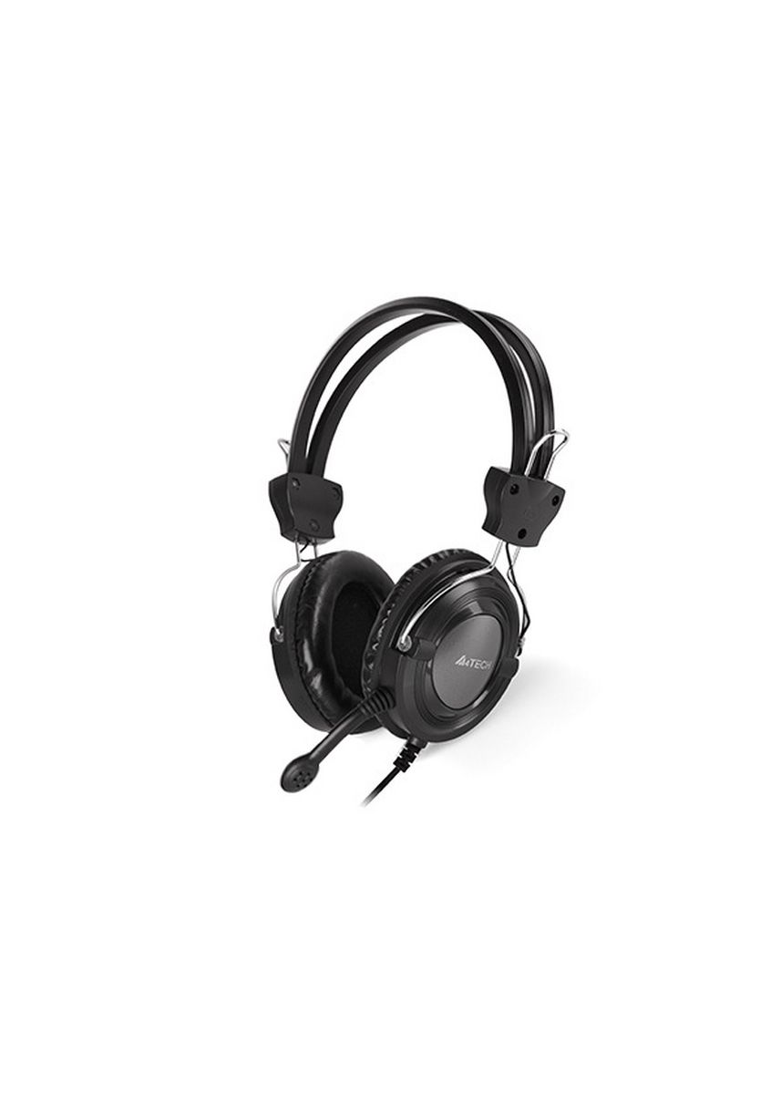 Black Grey color  . A4Tech HS-19-1 Headset w/ in line Mic Grey -